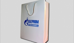 Заказать бумажный пакет  по недорогой цене