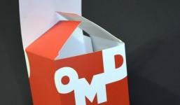 Коробки с логотипом самосборные