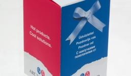 Самосборная коробка с логотипом – оригинальность и надежность