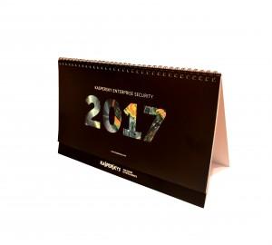 Календарь домик ченый