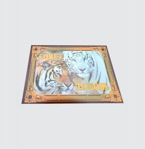 Наклейка тигры