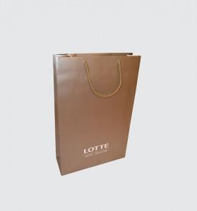 Lotte пакет бумажный