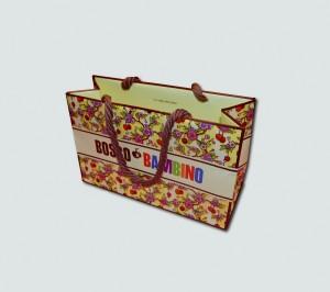 Пакет с цветами