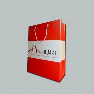 Бумажный пакет ицмит