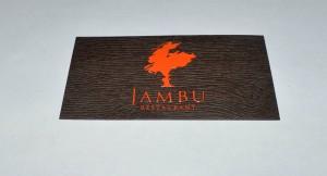 Визитка Jambu