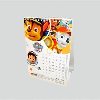 календарь домик пульман