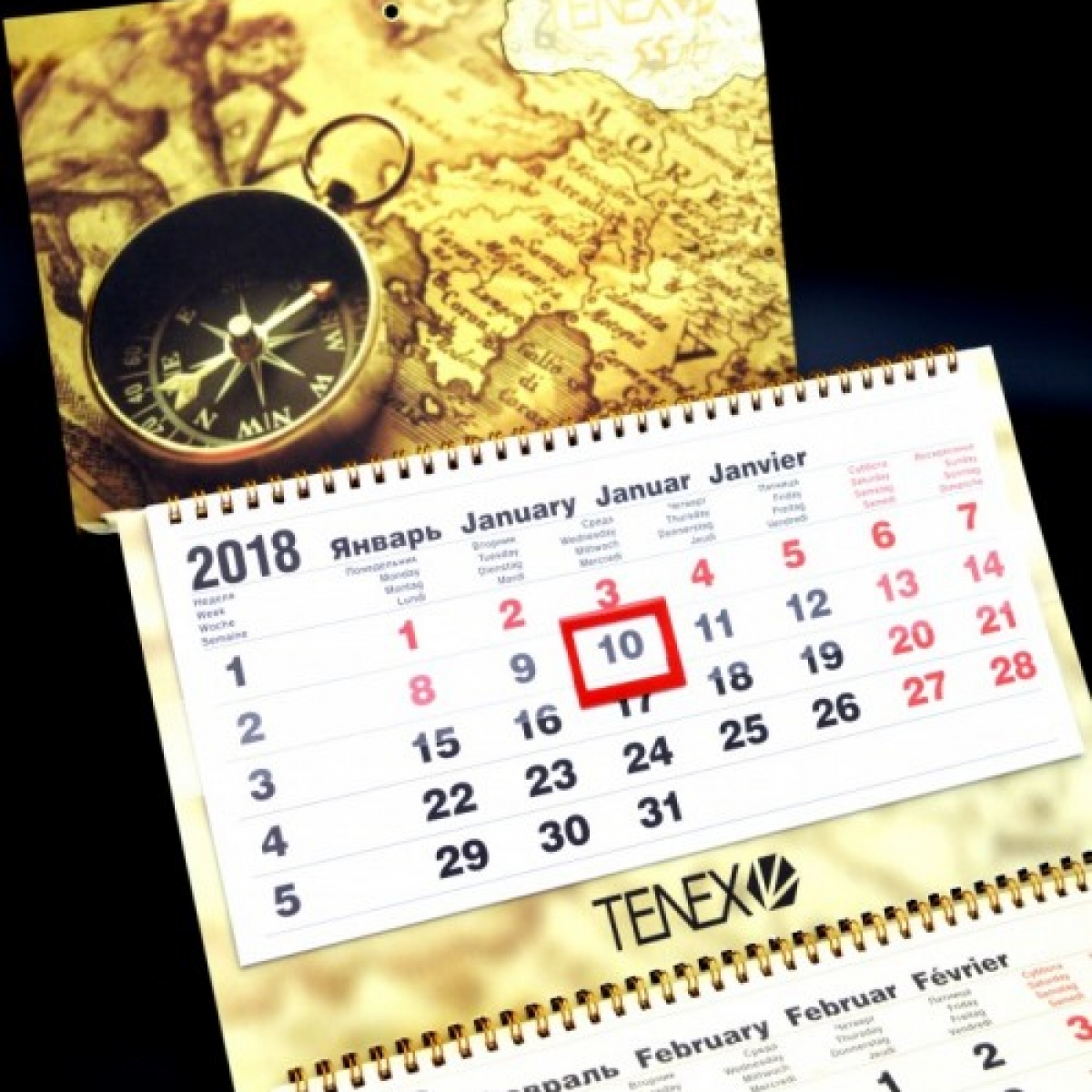Календарь TENEX