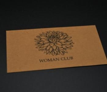 Визитка Woman Club